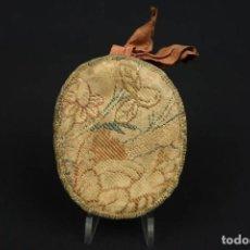 Antigüedades: ANTIGUO RELICARIO CON VARIAS RELIQUIAS DE SANTOS SIGLO XVIII/XIX. Lote 190992217