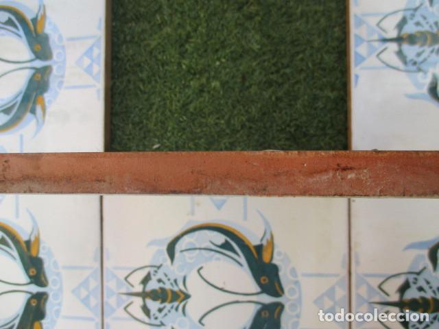 Antigüedades: Panel de azulejos Modernistas Valencia - Foto 3 - 191004478
