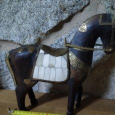 Antigüedades: CABALLO MADERA. Lote 191005106