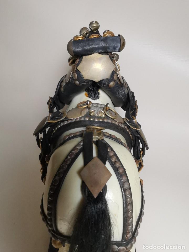 Antigüedades: CABALLO TIRO- MAQUETA A ESCALA, GUARNICIONES, ARREOS O JAECES J.BORRELL MONTBRIO CAMP-TRES TOMBS - Foto 16 - 191007325