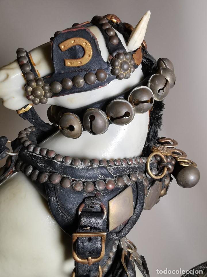 Antigüedades: CABALLO TIRO- MAQUETA A ESCALA, GUARNICIONES, ARREOS O JAECES J.BORRELL MONTBRIO CAMP-TRES TOMBS - Foto 46 - 191007325