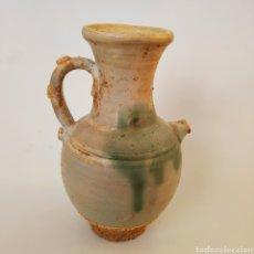 Antigüedades: CHINA ANTIGIA JARRA DE VINO, CERÁMICA PORCELANA, ESTILO JUN. Lote 191009898