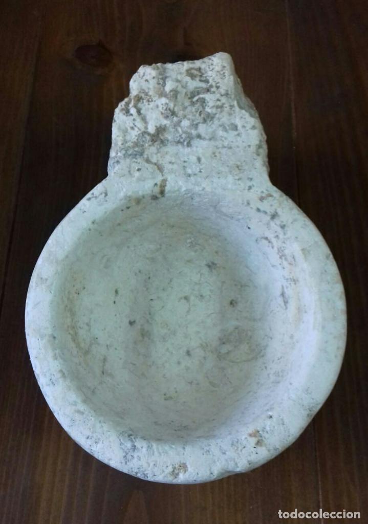 Antigüedades: Pila de agua bendita S.XVII - Foto 4 - 191013597