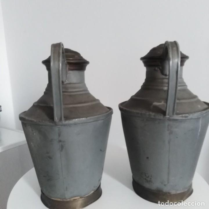Antigüedades: Antiguos Cántaros de leche. siglo xix - Foto 9 - 191019366