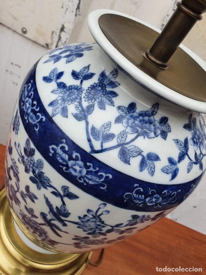 Antigüedades: Lámpara de porcelana del ritz - Foto 4 - 191034098