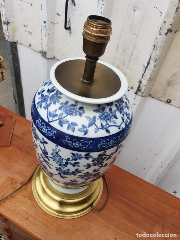 Antigüedades: Lámpara de porcelana del ritz - Foto 5 - 191034098