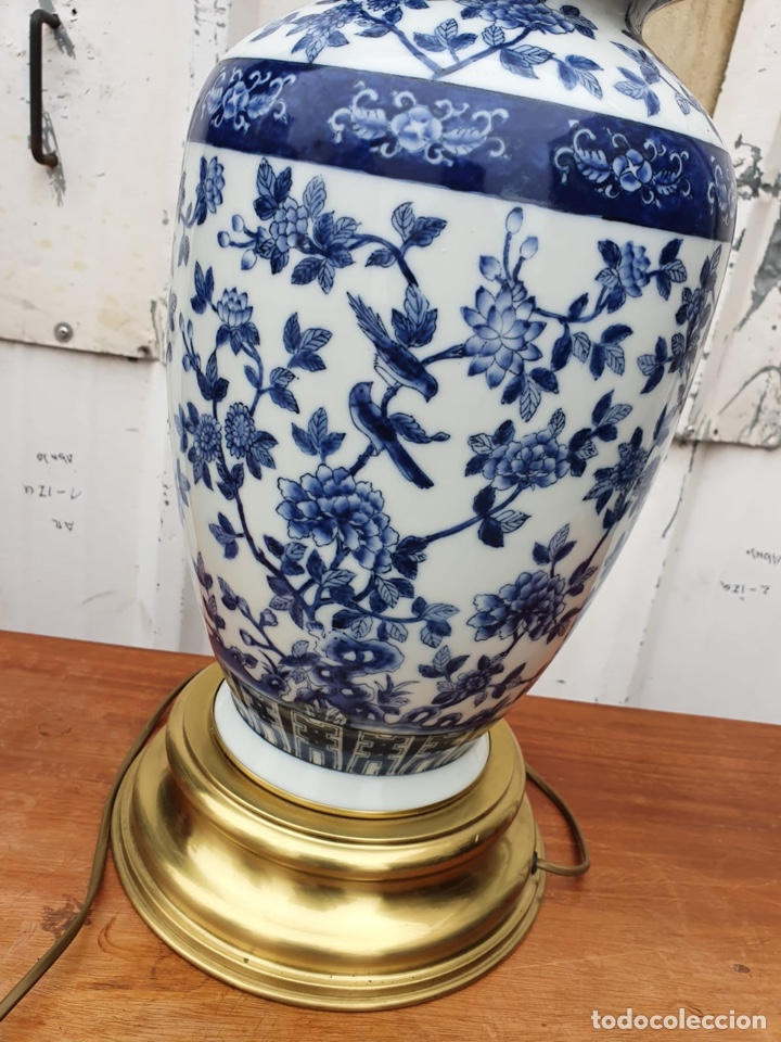 Antigüedades: Lámpara de porcelana del ritz - Foto 8 - 191034098