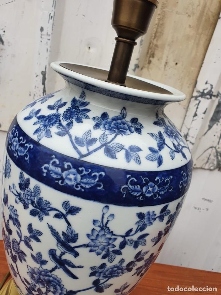 Antigüedades: Lámpara de porcelana del ritz - Foto 10 - 191034098