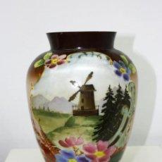 Antigüedades: JARRON DE OPALINA. Lote 191040996