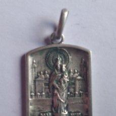 Antigüedades: MEDALLA RELIGIOSA ANTIGUA NUESTRA SEÑORA DEL PILAR. Lote 191069298