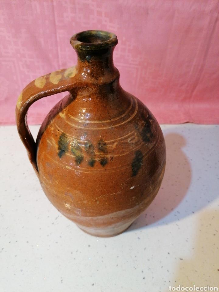 Antigüedades: Botija de barro vidriado - Foto 3 - 191076500