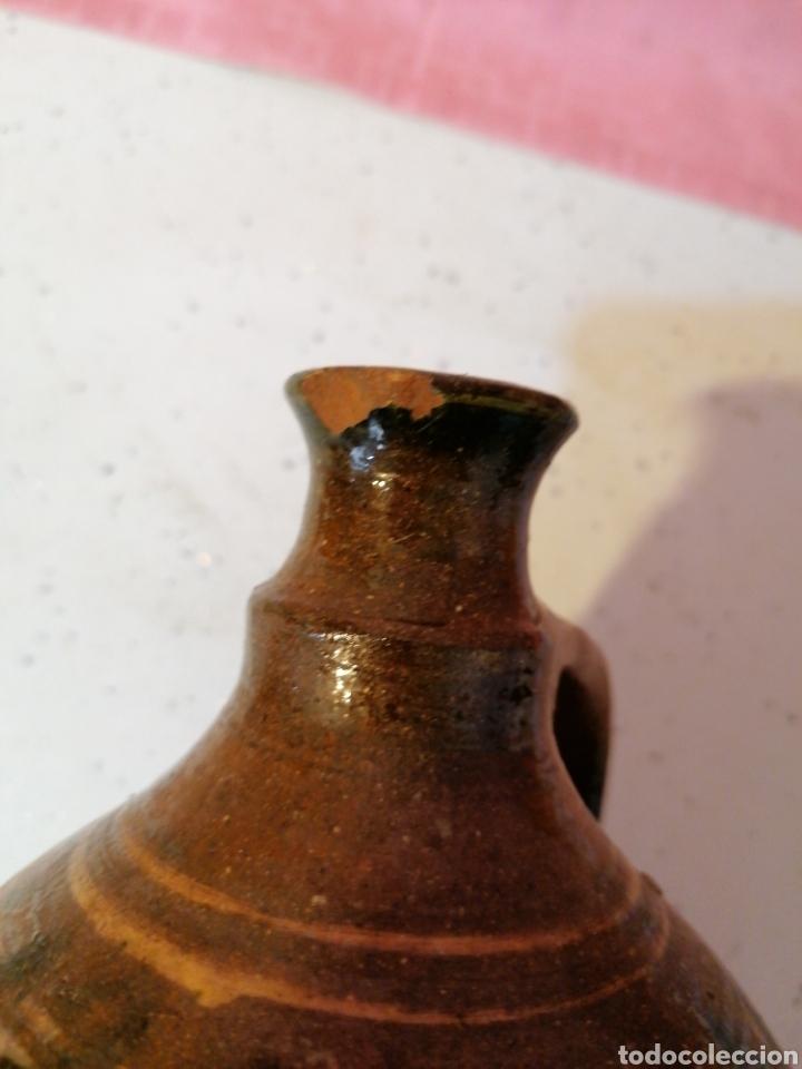 Antigüedades: Botija de barro vidriado - Foto 5 - 191076500