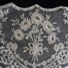 Antigüedades: ANTIGUO VISILLO DE ENCAJE PPIO.S.XX. Lote 191087021