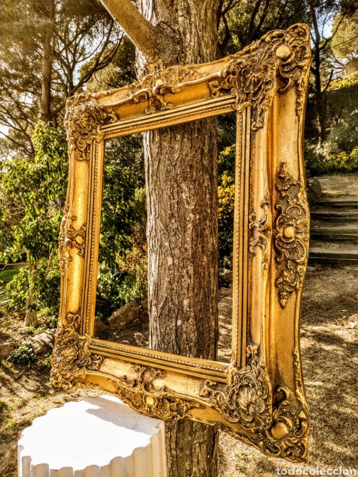 Antigüedades: Precioso Marco Clásico ornamentado doble marco ANTIQUE UNIQUE - Foto 2 - 191097986