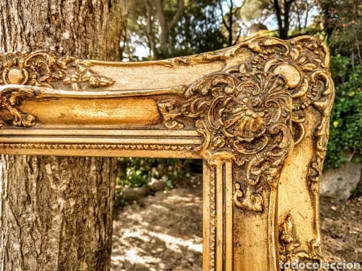Antigüedades: Precioso Marco Clásico ornamentado doble marco ANTIQUE UNIQUE - Foto 3 - 191097986