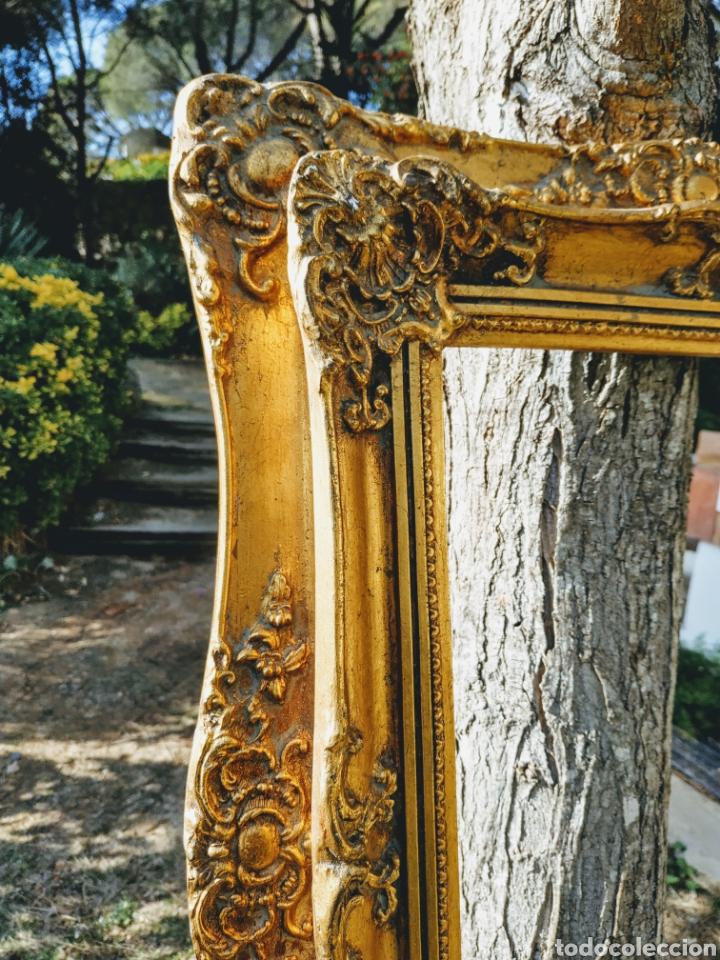 Antigüedades: Precioso Marco Clásico ornamentado doble marco ANTIQUE UNIQUE - Foto 4 - 191097986