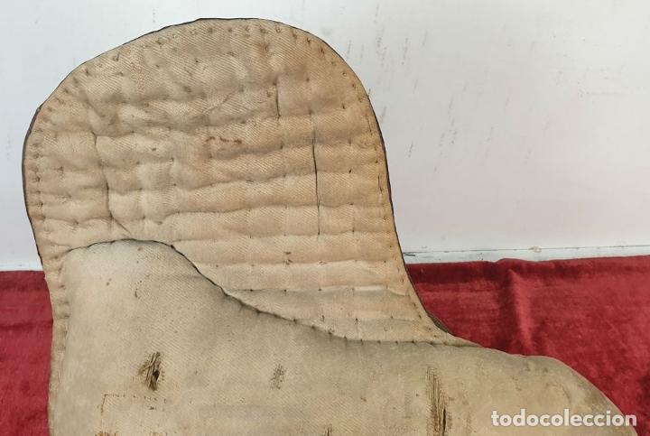 Antigüedades: SILLA DE MONTAR A CABALLO. HECHA DE CUERO. ESPAÑA. SIGLO XIX-XX. - Foto 13 - 191136938