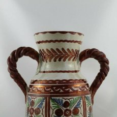 Antigüedades: JARRON DE CERAMICA DE REFLEJOS PABLO SANGUINO PUENTE DEL ARZOBISPO. AÑOS 80. Lote 191180711