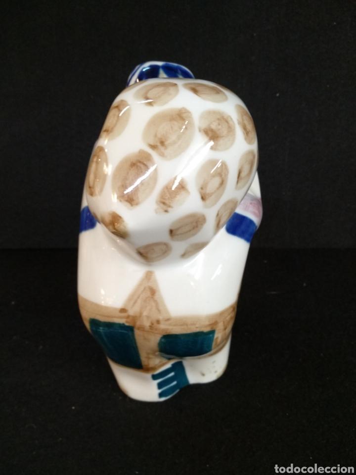 Antigüedades: Bonita figura de porcelana Sargadelos - Foto 4 - 191192208