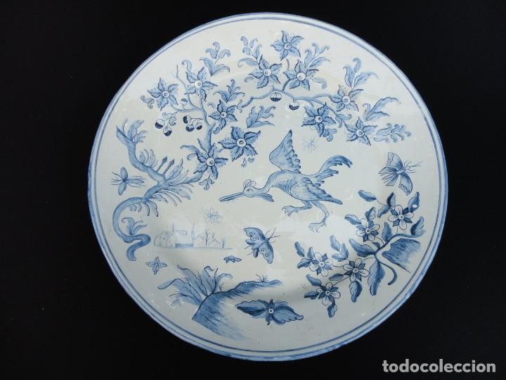 CERÁMICA LEVANTINA: PLATO DE ALCORA (Antigüedades - Porcelanas y Cerámicas - Alcora)