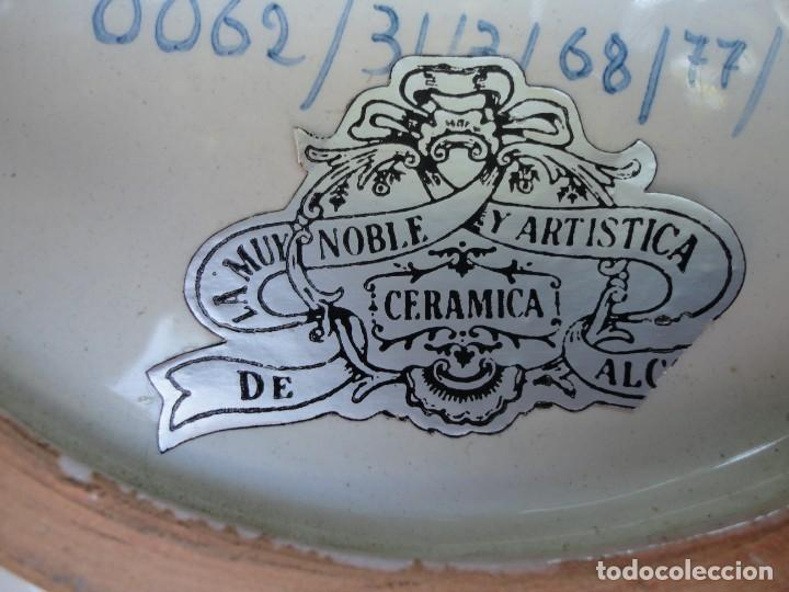 Antigüedades: Cerámica levantina: Plato de Alcora - Foto 6 - 191212783