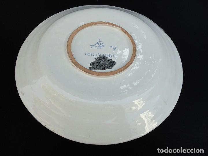 Antigüedades: Cerámica levantina: Plato de Alcora - Foto 7 - 191212783