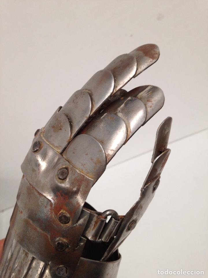 Antigüedades: guante medieval - Foto 5 - 191215511