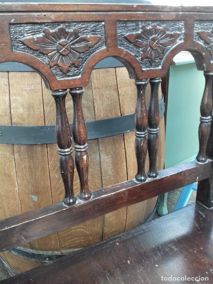 Antigüedades: Silla butaca estilo castellano. - Foto 4 - 191215642
