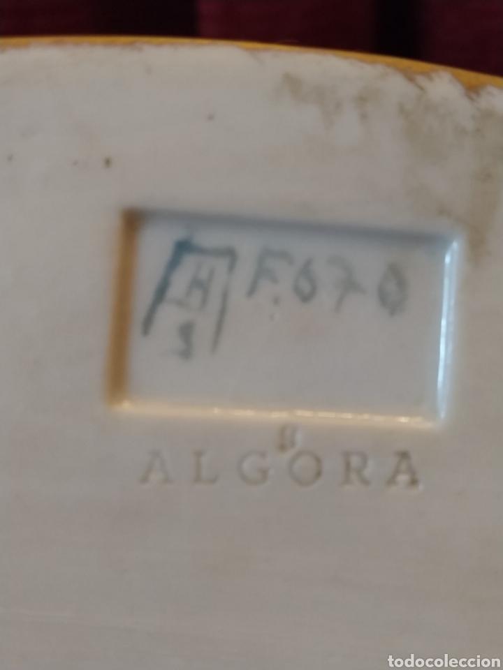 Antigüedades: Grupo de querubines porcelana de Algora. - Foto 5 - 191219006