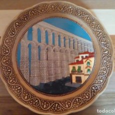 Antigüedades: PLATO RECUERDO DE SEGOVIA 30 CM. Lote 191230976