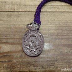 Antigüedades: SEMANA SANTA SEVILLA, MEDALLA CON CORDON HERMANDAD DE LOS GITANOS. Lote 191262081