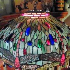 Oggetti Antichi: LAMPARA DE TECHO TIFFANY. Lote 191262793