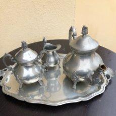 Antigüedades: BONITO JUEGO DE CAFÉ VINTAGE. Lote 191264670