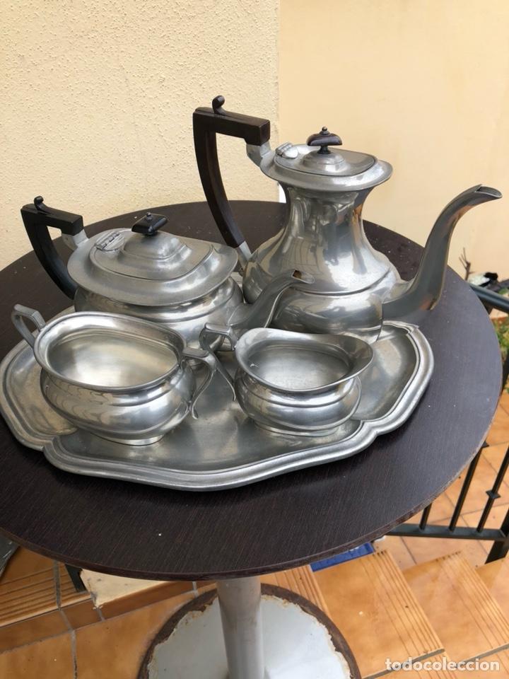 BONITO JUEGO DE CAFÉ VINTAGE (Antigüedades - Hogar y Decoración - Otros)