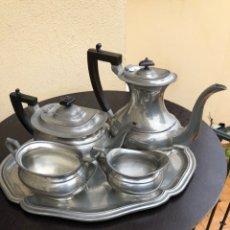 Antigüedades: BONITO JUEGO DE CAFÉ VINTAGE. Lote 191264753