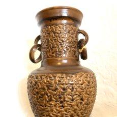 Antigüedades: JARRÓN TALLADO. Lote 191266148