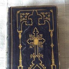 Antigüedades: IMITATION DE JESUS-CHRIST -TOURS 1847. Lote 191272050