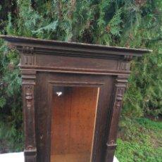Antigüedades: ANTIGUA URNA CAPILLA PARA IMAGEN. . Lote 191272958