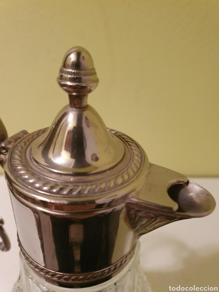 Antigüedades: PRECIOSA Y ELEGANTE JARRA DE CRISTAL ITALIANA MARCA SHERATONN - Foto 6 - 191274140