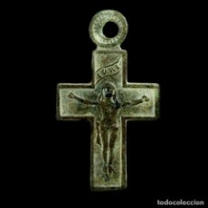 Antigüedades: CRUZ RELIGIOSA, SIGLO XVI-XVII, 27X14 MM.. Lote 191274645
