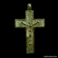 Antigüedades: CRUZ RELIGIOSA, SIGLO XVI-XVII, 34X19 MM.. Lote 191274900