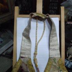 Antigüedades: 33 - MANIPULO SACERDOTAL ORO Y VARIOS TONOS. Lote 191309070