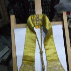Antigüedades: 37 - MANIPULO SACERDOTAL ORO.. Lote 191311903