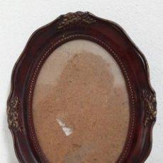 Antigüedades: MARCO DE FOTOS OVALADO. Lote 191312681