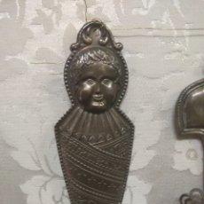 Antigüedades: ANTIGUO EX-VOTO DE PLATA. Lote 191322087