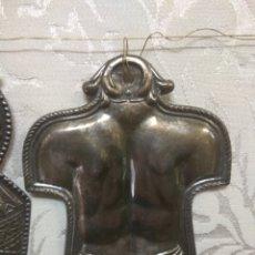 Antigüedades: ANTIGUO EX-VOTO DE PLATA. Lote 191322121