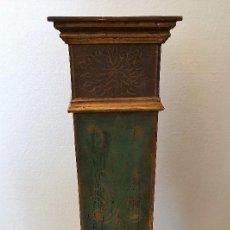Antigüedades: ANTIGUO PEDESTAL TIPO COLUMNA. Lote 191326862