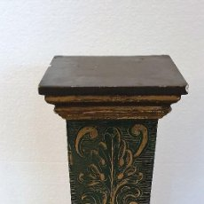 Antigüedades: ANTIGUO PEDESTAL TIPO COLUMNA. Lote 191326895