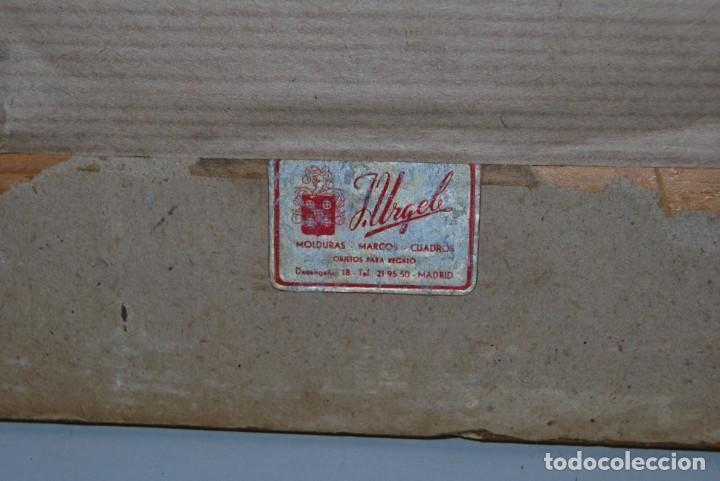 Antigüedades: BONITO ESPEJO TIPO VENECIANO - MARCO DE ESPEJO Y METAL - AÑOS 40 - Foto 11 - 191331721