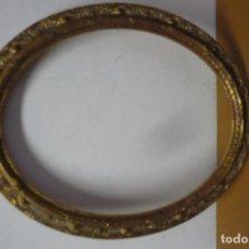 Antigüedades: MARCO OVALADO GRABADO. Lote 191342647